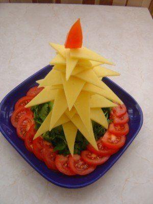 Como hacer arbolito navideño para la mesa de noche buena  Amigas hoy les vengo a compartir lindas y originales ideas para hacer un arbolito ...