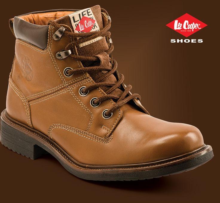 Lee Cooper men's boot. LC9578 Tan #LeeCooper