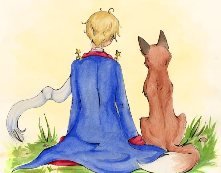 Картинки маленький принц с лисой