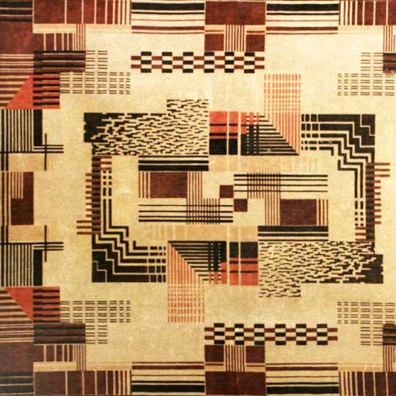 Amsterdam School Tapestry - 1920's