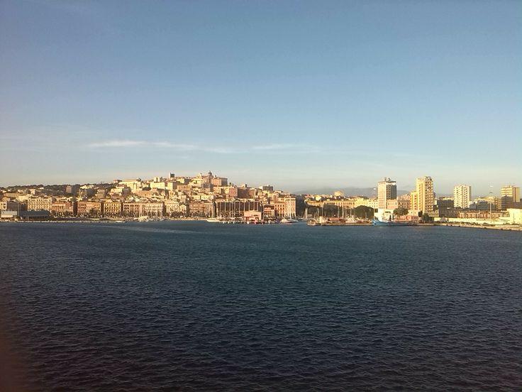 La città di Cagliari