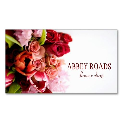 71 Best Images About Business Cards: Florist On Pinterest