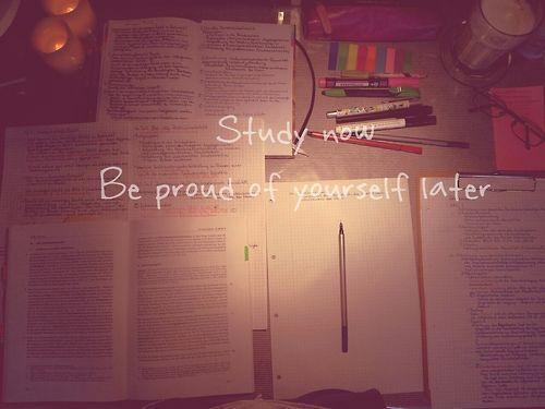 Train hard - study harder