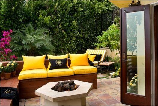 Outdoor space diy furniture deck patio