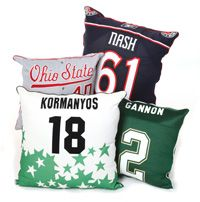 Turn your jersey into a pillow.