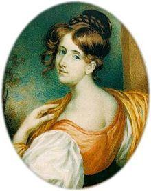 Elizabeth Gaskell peu avant son mariage Portrait par William John Thomson (1832).-  elle peut être rapprochée de Jane Austen, « le grand écrivain de comédies sérieuses » et George Eliot, « le grand écrivain de tragédies spirituelles », comblant, en quelque sorte, le vide qui les sépare.  Le style de Mrs Gaskell est célèbre pour l'usage de mots appartenant au dialecte local dans la bouche de personnages de la middle-class et du narrateur.