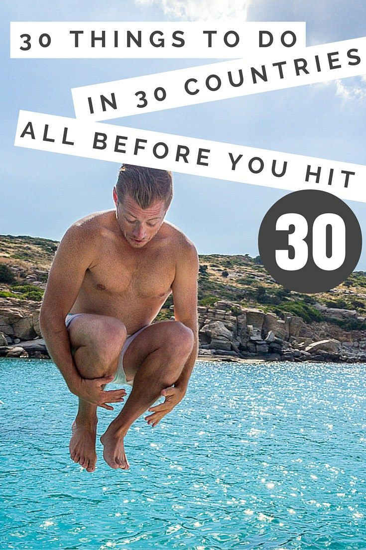 30 Things to Do Before 30: the only bucket list you need! Check out the travel experiences you can't miss in your twenties! | 30 before 30 bucket list | 30 before 30 list ideas | 30 before 30 ideas | bucket list before 30 | bucket list for twenties #30before30 #bucketlist - via @travelfreak_