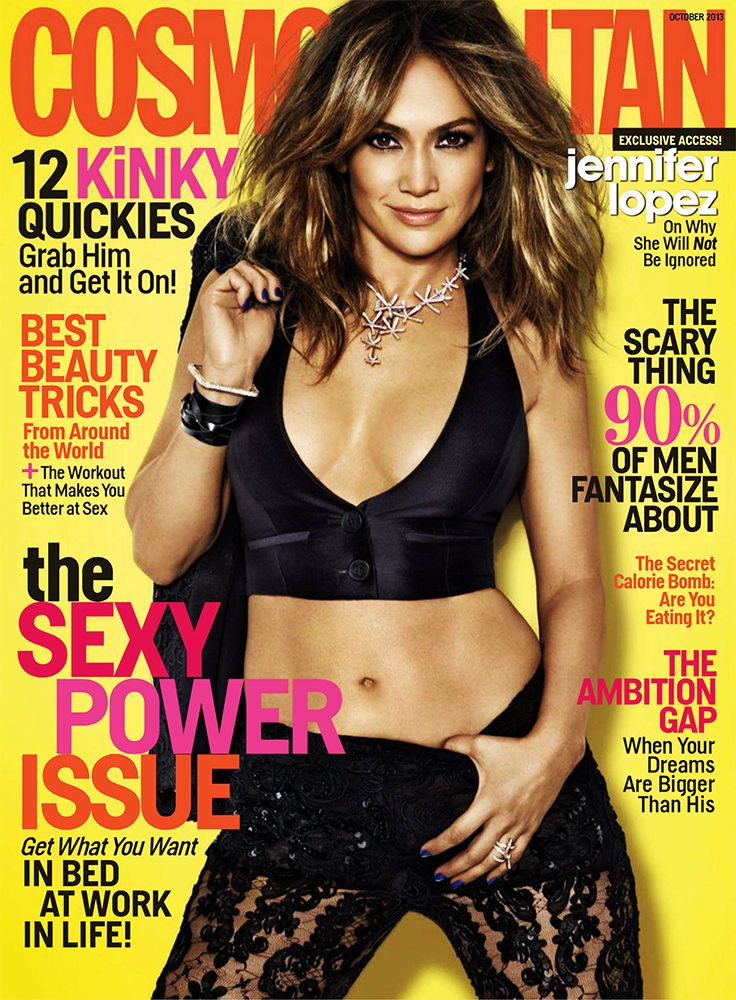 Cosmopolitan USA - October 2013 with Jennifer Lopez