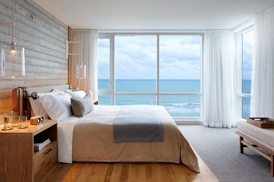 Guest room at the new 1 Hotel South Beach