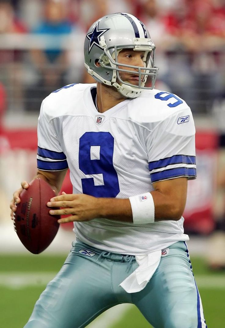 Dallas Cowboys QB - Tony Romo. OK OK! I know that he is the QB for the cow-bums but hey! He's hot!