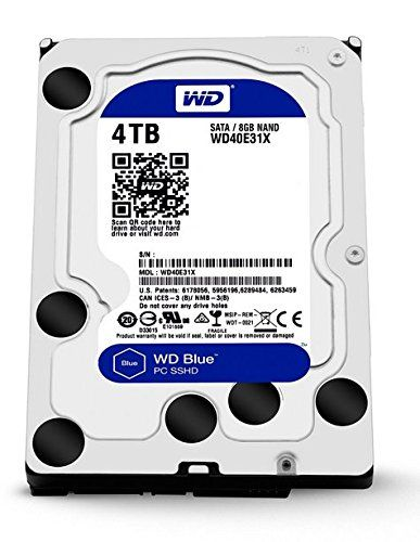 Western Digital  interne Festplatte 4TB SSHD  0809393892342