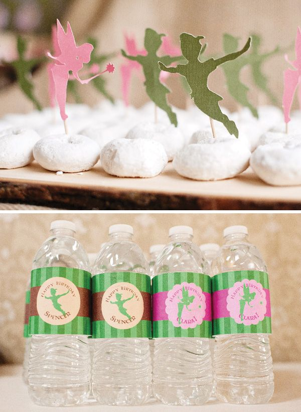 Tinkerbell  Peter Pan Birthday Party {Boy/Girl Party} // Hostess with the ...