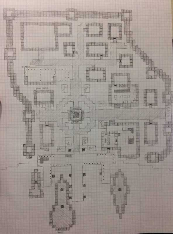 A Completed Floor Plan Of My Upcoming Small Town Time To
