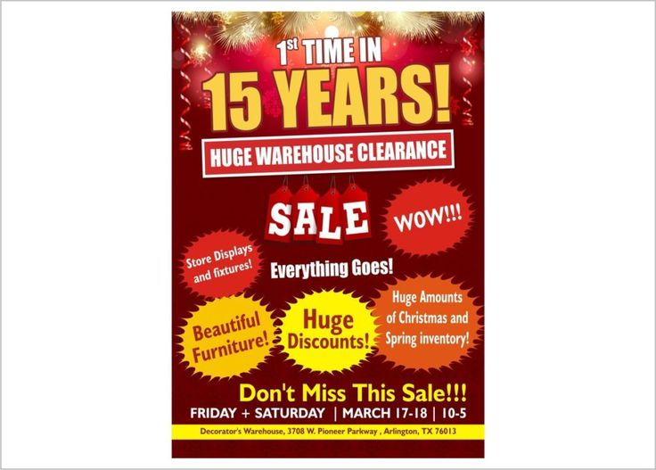 Huge Warehouse Clearance Flyers & Leaflets designed by Printpedia.co.uk . Get in Touch with us for Flyers & Leaflets for your business.  Call us : 020 800 46 800  #flyers #design #graphicdesign #leaflets #london #kent #manchester #chelsea #bucks #miltonkeynes #shoreditch #oxfords