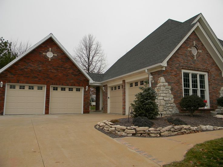 68 best detached garage images on pinterest driveway for Carport additions