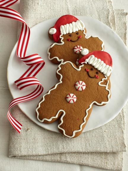 Monaco Baking Company - Santa Hat Gingerbread Boy Cookies
