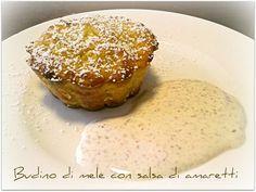 Vivi in cucina: Budino di mele in salsa di amaretti