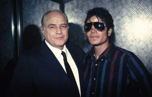 Marlon Brando and Michael Jackson.