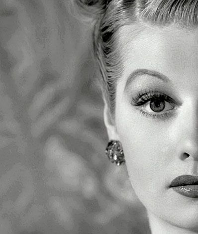 """""""I'm not funny. What I am is brave."""" -Lucille Ball"""