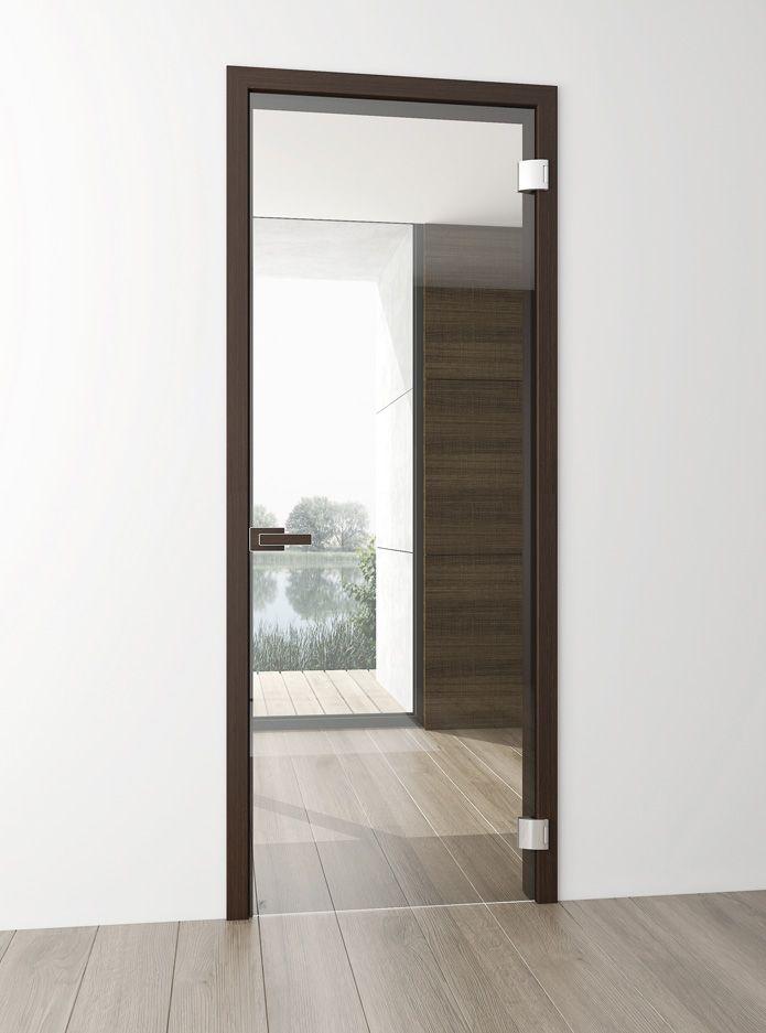 Celoskleněné dveře FLY vám umožní vnímat dveře úplně novým způsobem.