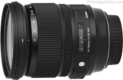 4. Sigma 24-105mm f/4.0 DG OS HSM Art Lens   Great General Purpose Focal Length Range, Great Build Quality, Excellent Image Quality, Optical Stabilization, Classy Looks.   For more commentary on this lens and many others visit: http://www.The-Digital-Picture.com/Canon-Lenses/Canon-General-Purpose-Lens.aspx