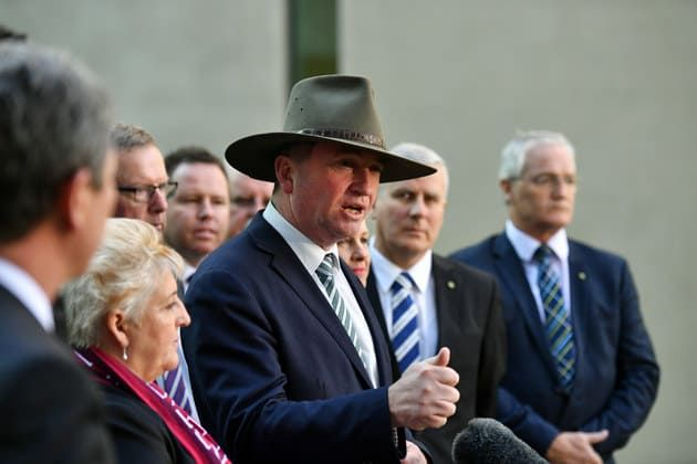 """Barnaby Joyce Billed Taxpayers Almost $9,000 For """"Special Purpose"""" Flights, On The Same Day He Went To The Footy"""
