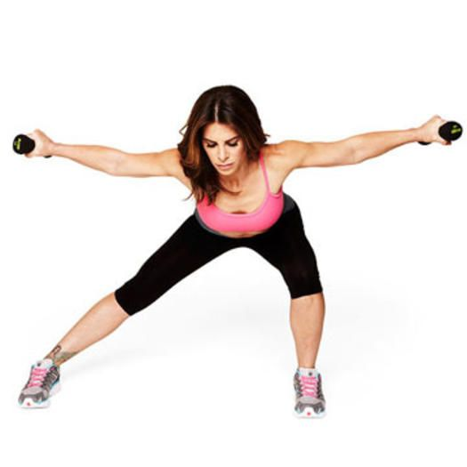 Burn megacalories, blast fat, and sculpt all over in less than 30 minutes with Jillian's new kick-butt workout.