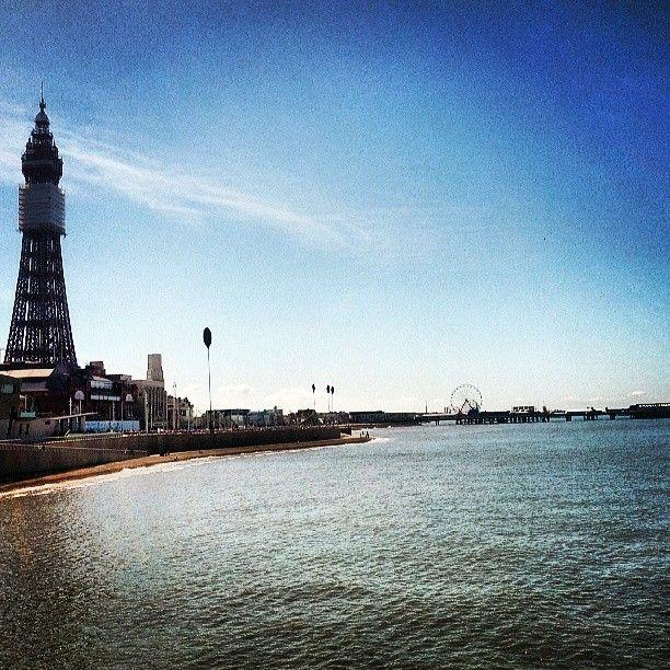 Blackpool Beach in Blackpool, Blackpool