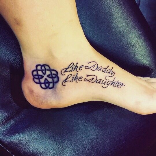 42 best images about daddy daughter on pinterest quotes for Daughter father tattoos