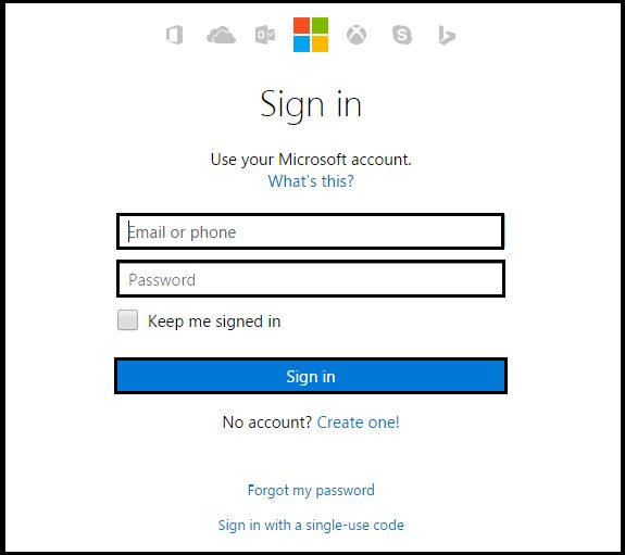 how to change hotmail password on phone