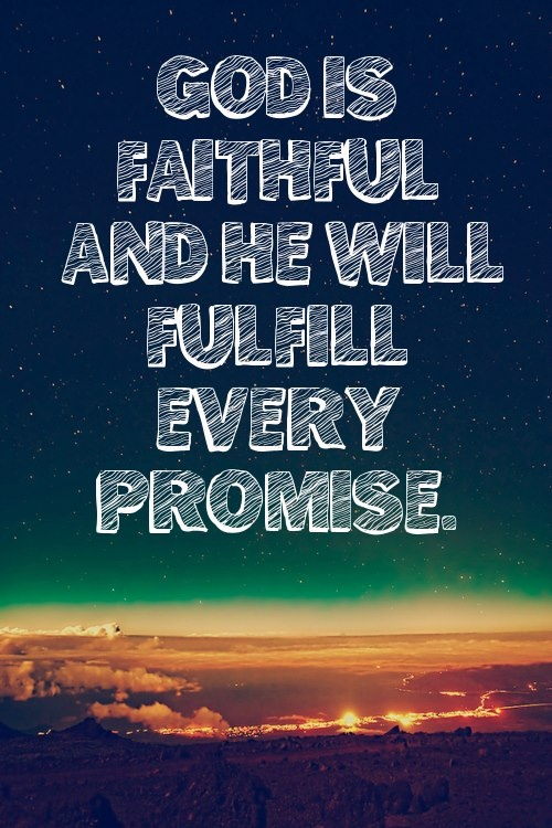 Image result for god is a promise keeper verse