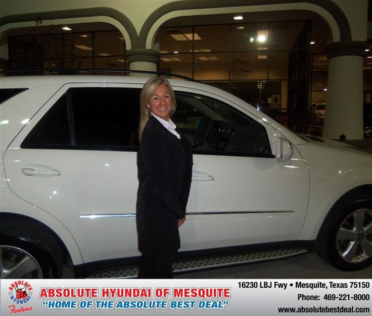 #HappyAnniversary to Kerin Sims on your 2009 #Mercedes #Ml320 from Gregory Sikes  at Absolute Hyundai!