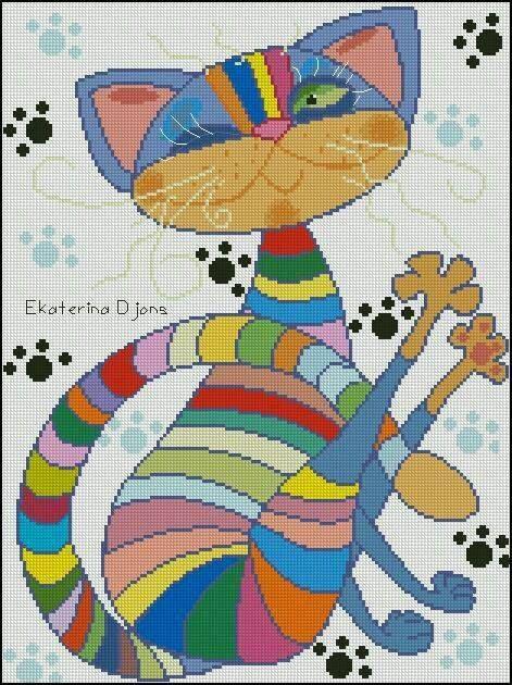 gato moderno