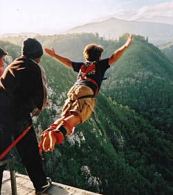 for the #Adrenalinejunkies out there! Come and experience the #World'sHighest commercial #Bungybridge at #Bloukrans, a staggering 216m (708ft). The smoothest most comfortable #bungy jump possible!