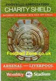 1979/1980 Charity Shield Programme - Arsenal v Liverpool