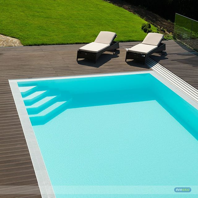 Made to swimming... :-) #lifestyle #design #health #summer #relaxation #architecture #pooldesign #gardendesign #pool #swimmingpool #niveko #nivekopools by nivekopools Creative backyard pool designs.