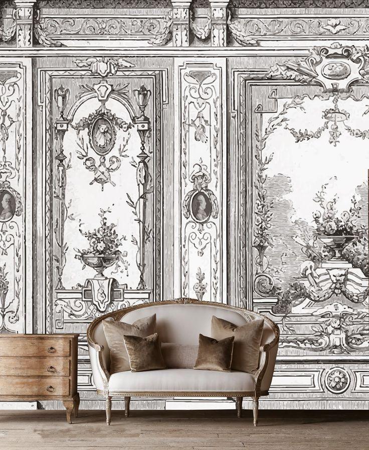 25 best Classic wallpaper ideas on Pinterest Two photo frame