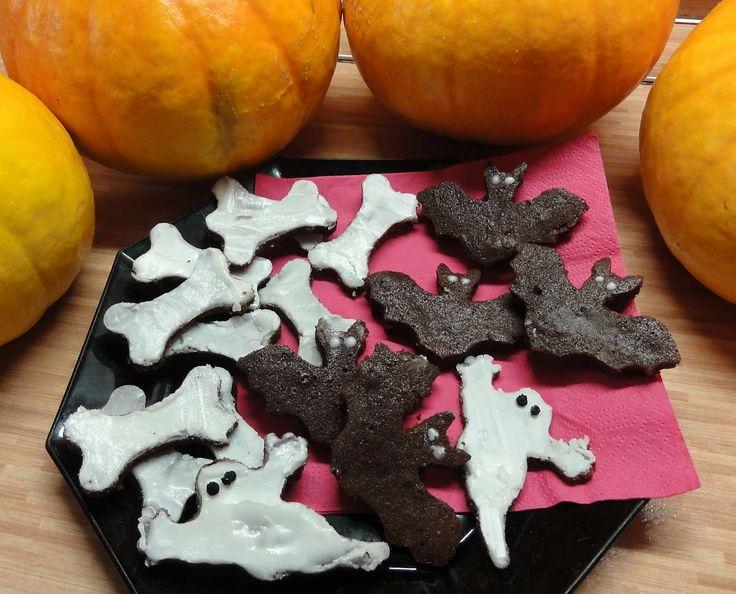 Cukroví na Halloween | recept. Halloween je anglosaský svátek, který se slaví 31. října. Svátek se časem rozšířil také do dalšíc