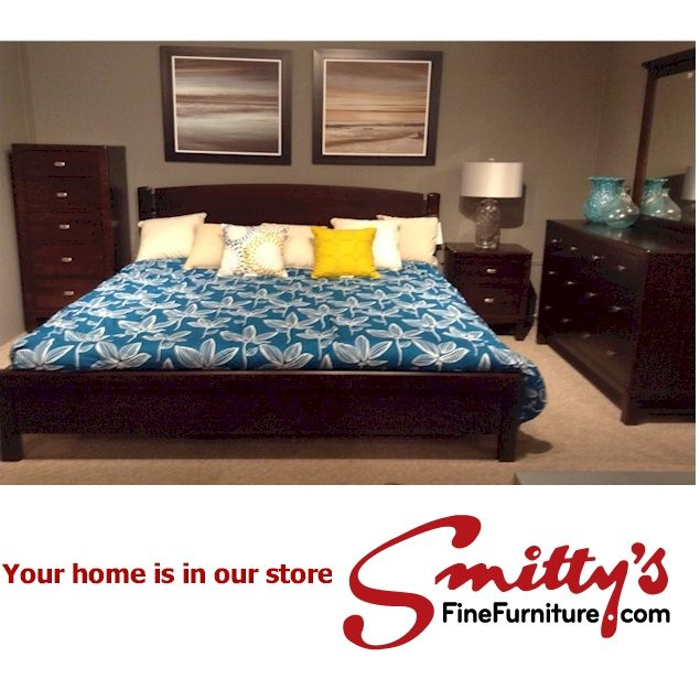 For the LOVE of Canadian Furniture My favourite bedroom suite is the Perfect Balance Westend Collection by Durham Furniture.