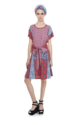 Molly Check Dress