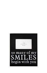 SO MANY OF MY SMILES PHOTO FRAME
