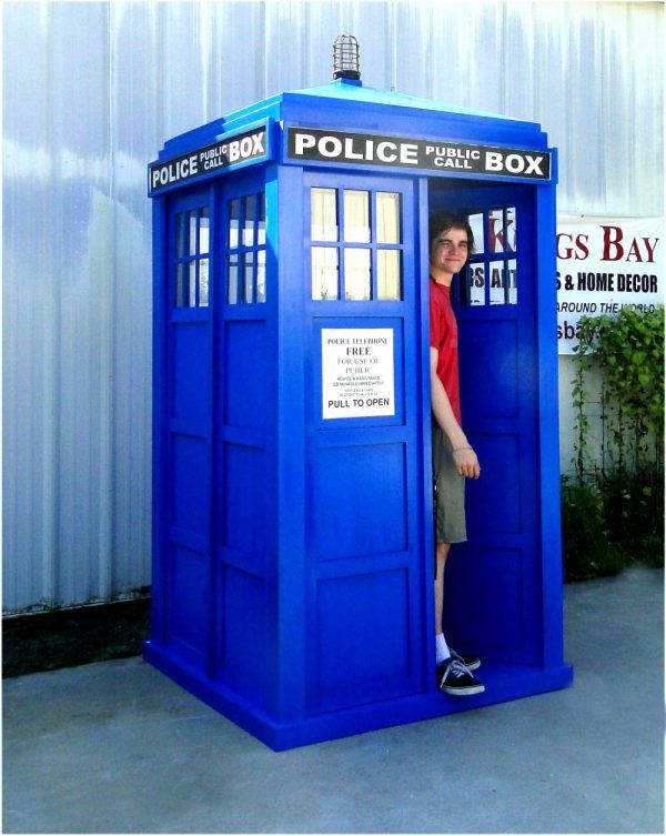 English Police Call Box Doctor Dr. Who Tardis Blue Phone Booth Full Size KD - The Kings Bay | Police call, Tardis, Tardis blue