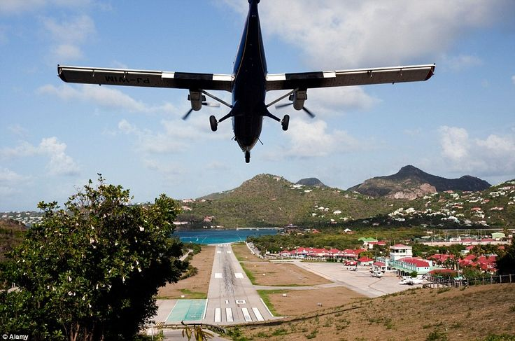 Gustaf III airport, St Barts: It's a playground for the rich and famous, but jet setters f...