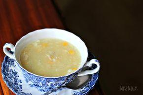 Sopa china de pollo y maíz - Miss Migas