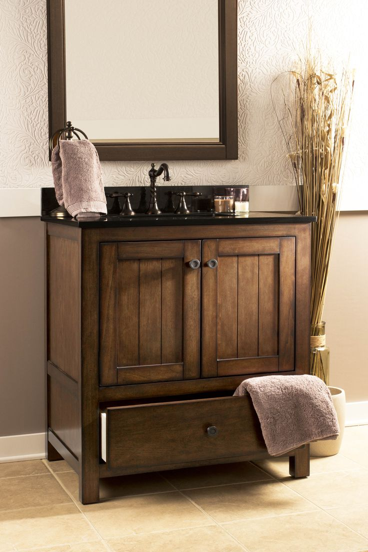 This traditional style vanity from foremost international for International decor bathrooms