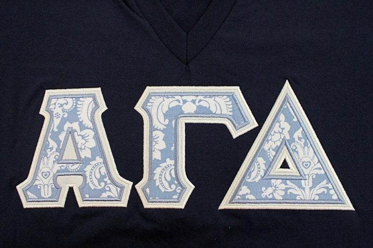Sorority Greek Letters-