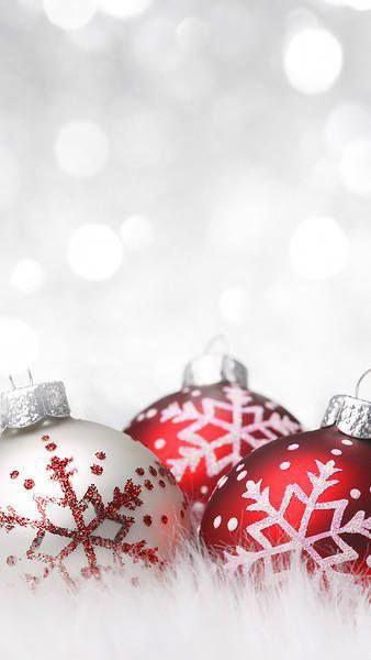 iPhone 6S Plus White Christmas Wallpaper christmasaesthetic