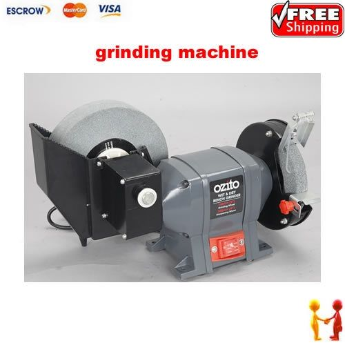 220.00$  Watch now - http://ali9oq.worldwells.pw/go.php?t=1827238755 - Freeshipping grinding machine, accurate grinding polishing machine, Dry wet amphibious grinder with water tank 220.00$