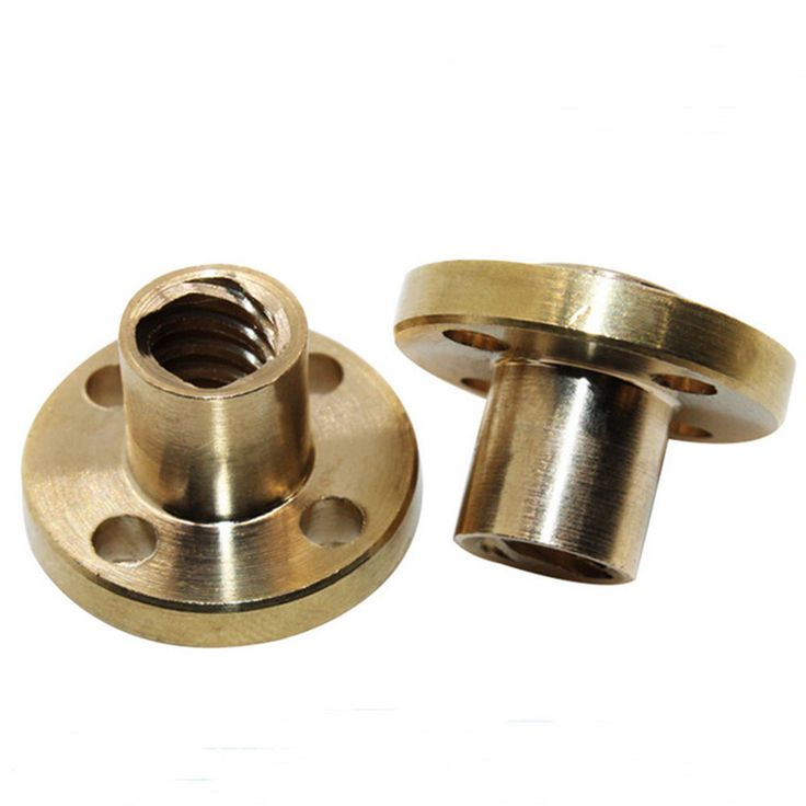 8mm T Type Lead Screw Nut Brass Nut For CNC Parts 3D printer