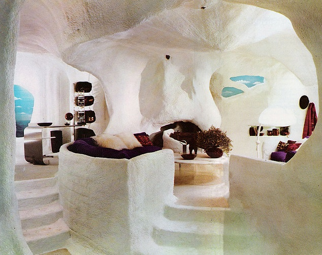Cave room, Bloomingdales by Barbara D'Arcy 1970s